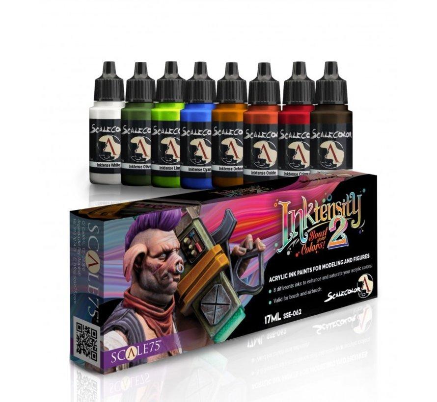 Inktensity 2 - 8 kleuren - 17ml - SSE-062