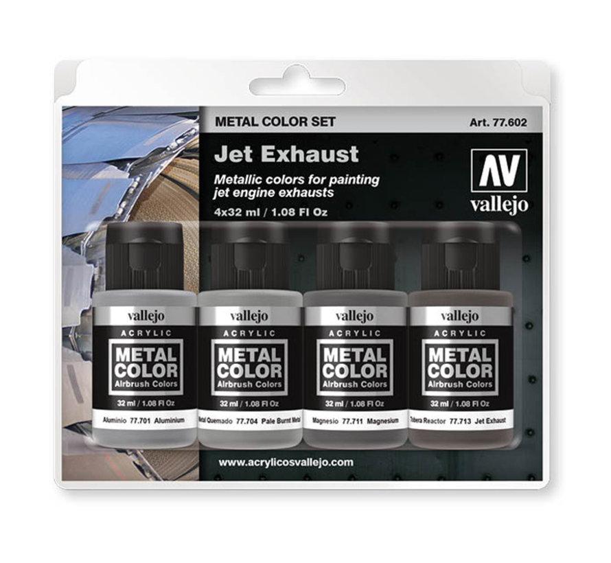 Metal Color Jet Exhaust set - 4x 32ml - 77602