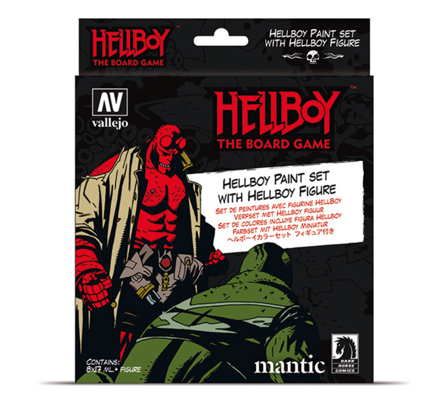 Model Color Hellboy - 8 kleuren - 17ml - 70187