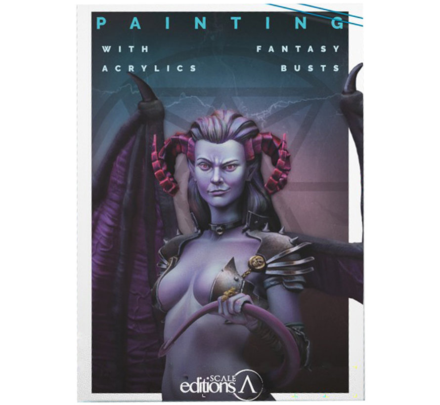 Painting with acrylics Fantasy Busts - 164pag - SEB-006