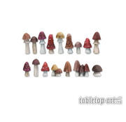 Tabletop-Art Mushrooms Set 1 - 16x - TTA601087