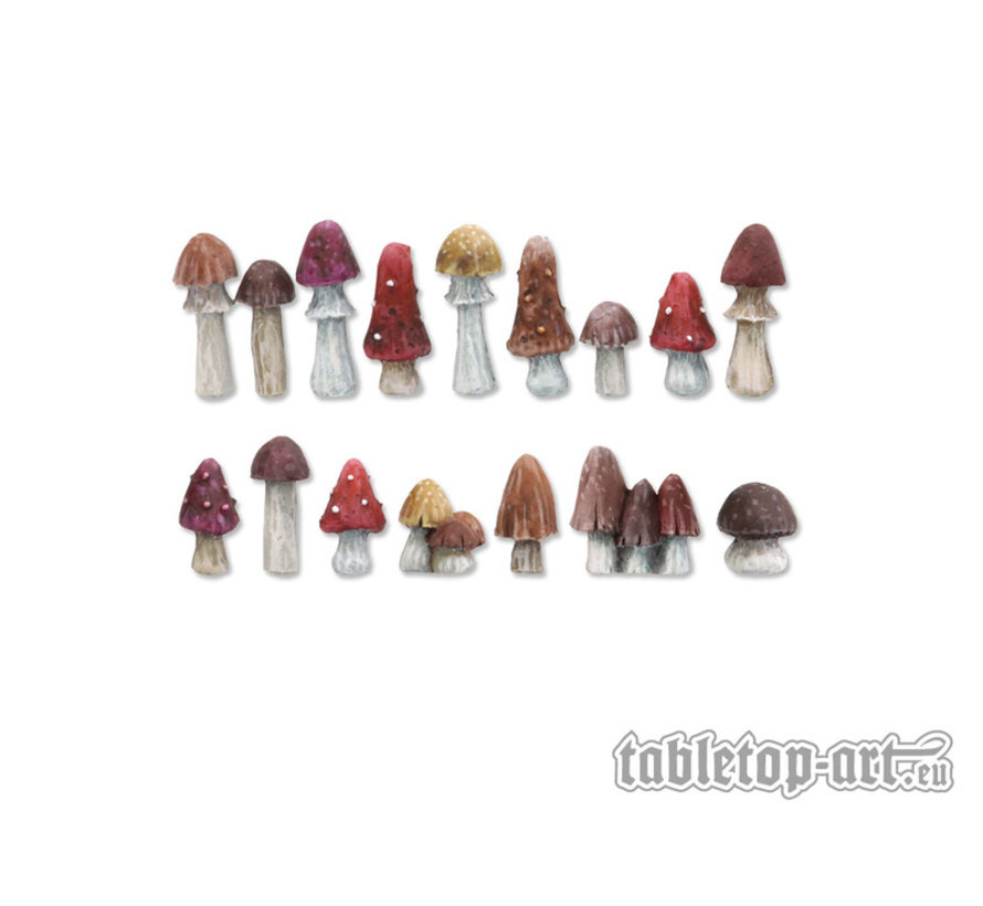 Mushrooms Set 1 - 16x - TTA601087