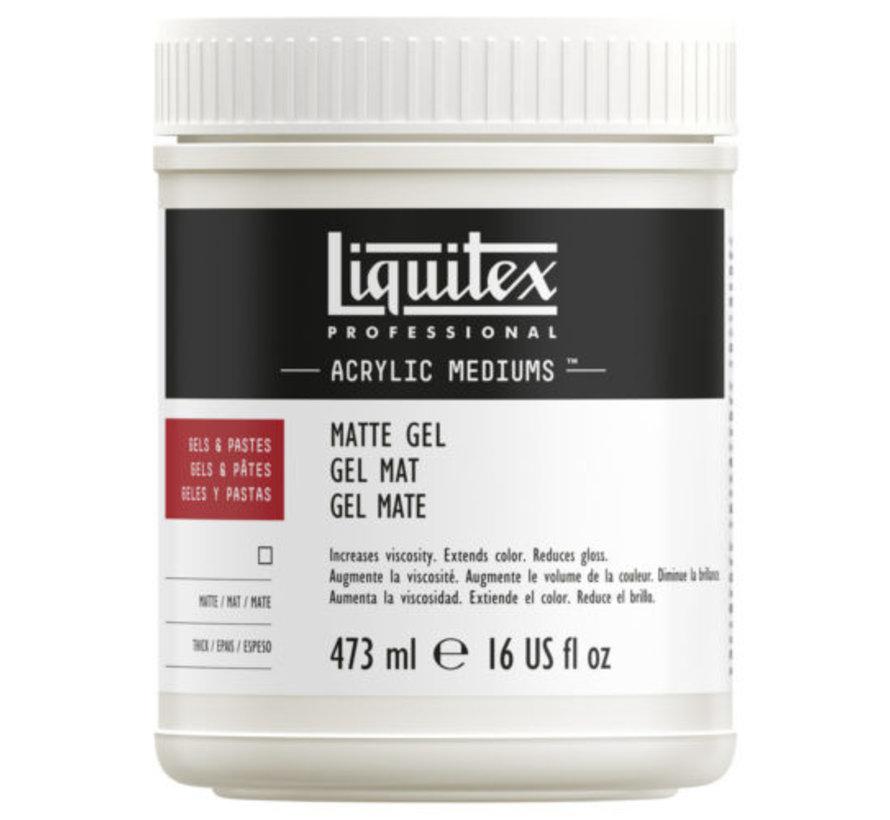 Matte Gel Medium - 473ml - 5322