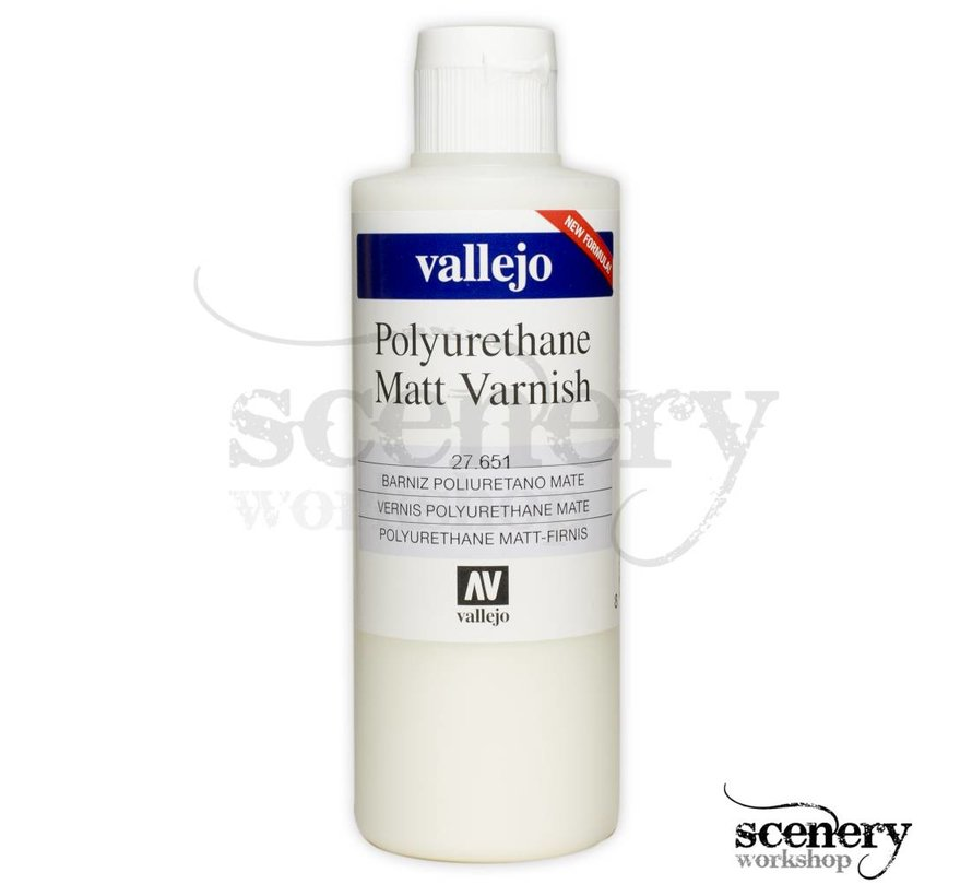 Polyurethane Varnish Matt - 200 ml - 27651
