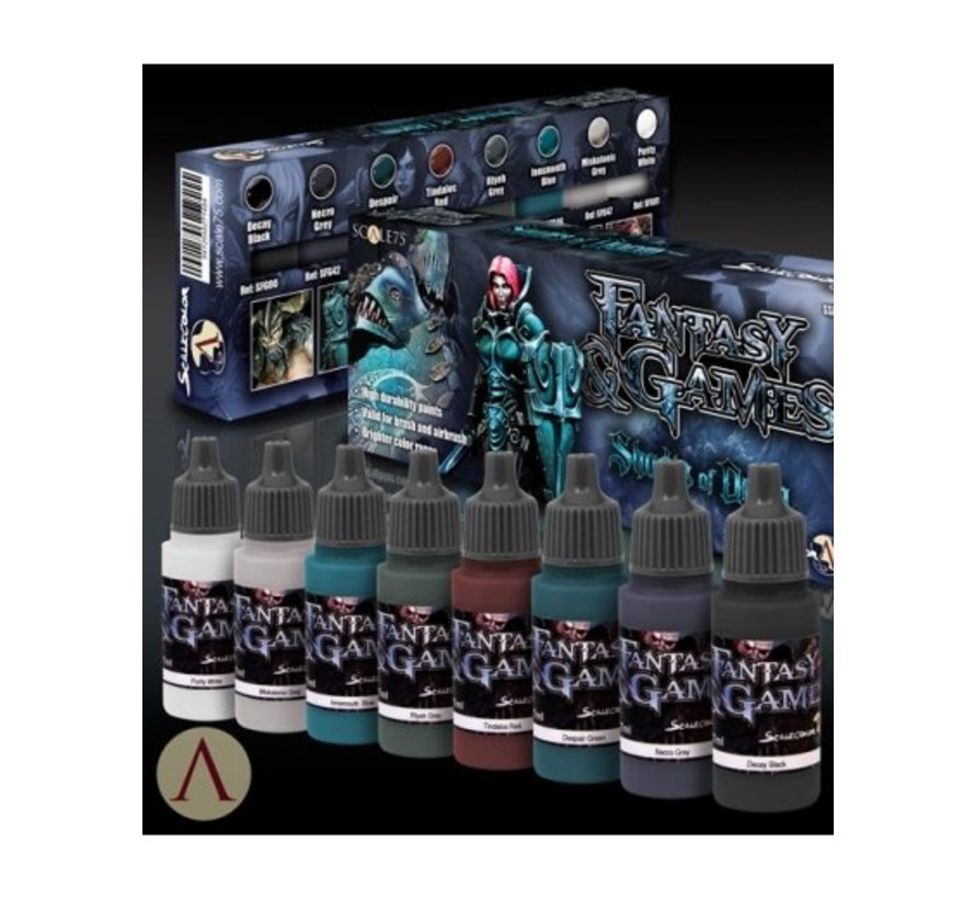 Shades of Doom - Fantasy & Games - 8 kleuren - 17ml - SSE-019