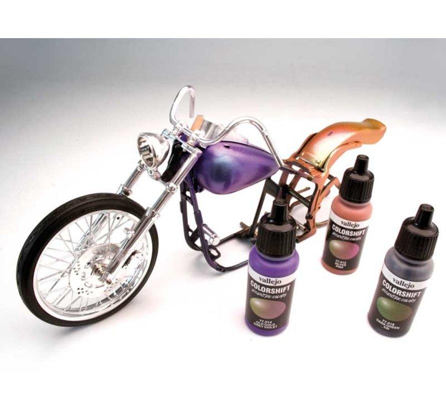 Colorshift set Galaxy Dust - 6 kleuren - 17 ml - 77092