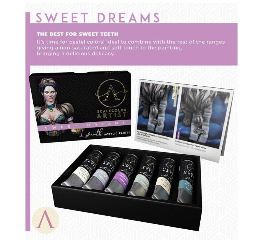 Sweet Dreams Scalecolor Artist - 6 kleuren - 20 ml - SSAR-09