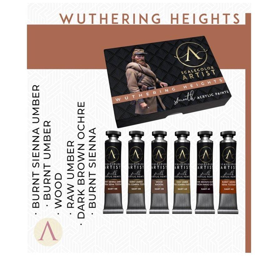 Wuthering Heights Artist kleuren - 6 kleuren - 20ml - SSAR-08