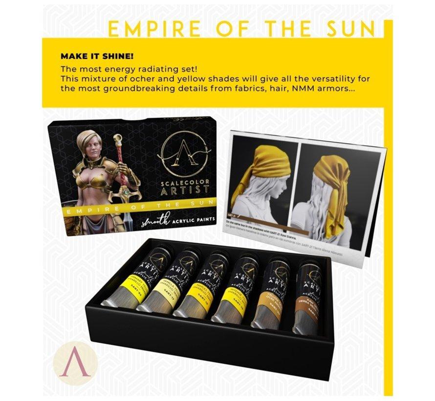 Empire Of The Sun Artist kleuren - 6 kleuren - 20ml - SSAR-04