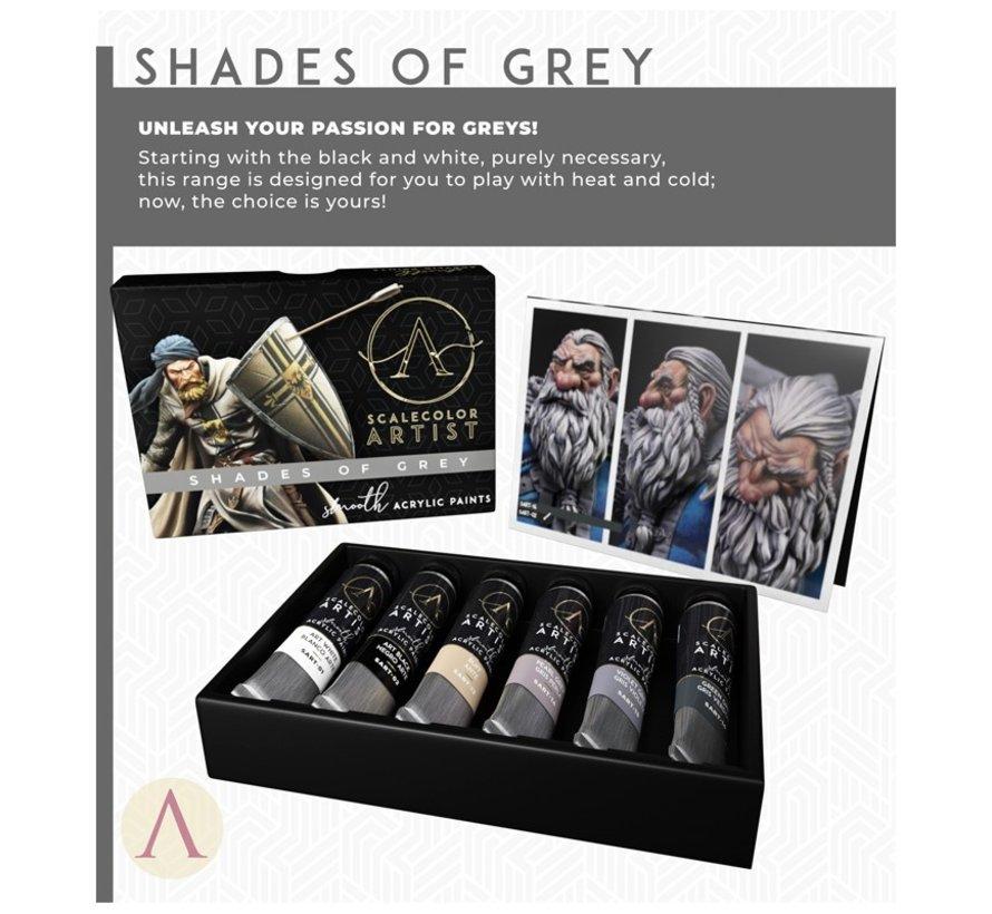 Shades Of Gray Scalecolor Artist - 6 kleuren - SSAR-03