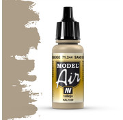 Vallejo Model Air Sandbeige - 17ml - 71244