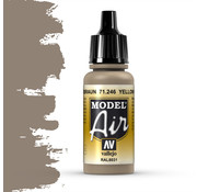 Vallejo Model Air Yellow Brown - 17ml - 71246