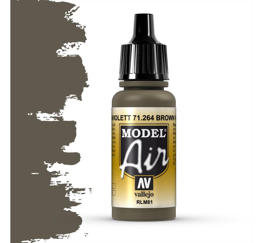 Model Air Brown Violet RLM81 - 17ml - 71264