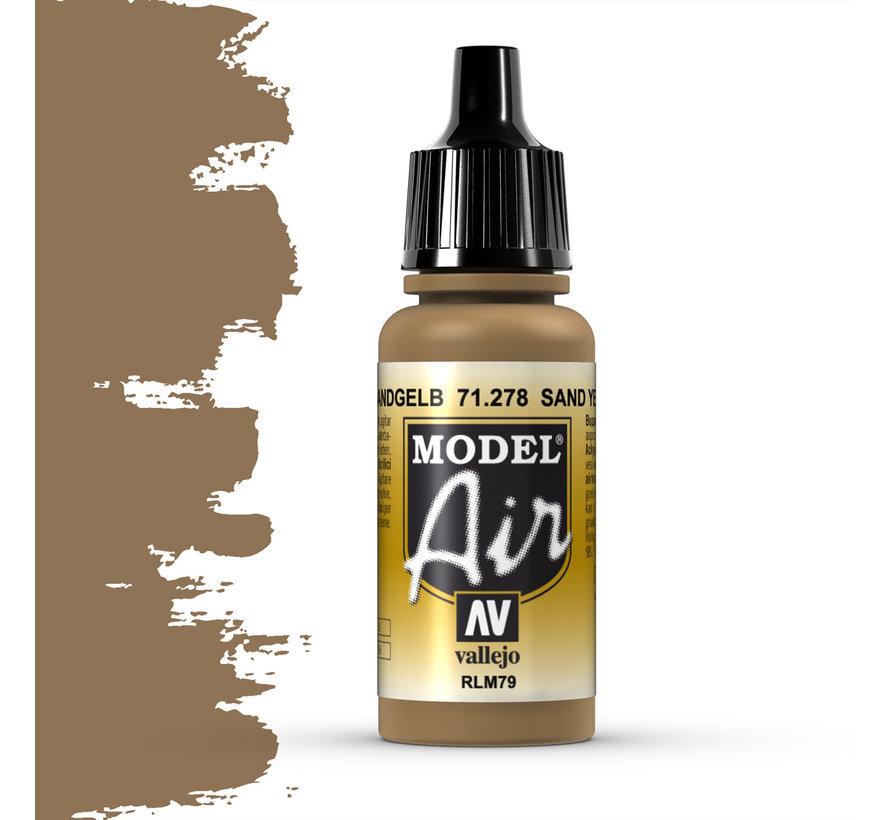 Model Air Sand Yellow RLM79 - 17ml - 71278