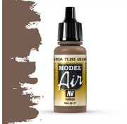 Vallejo Model Air US Earth Red - 17ml - 71293