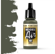 Vallejo Model Air A-24M Camouflage Green - 17ml - 71303