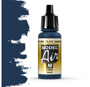 Vallejo Model Air Dark Mediterranean Blue - 17ml - 71313