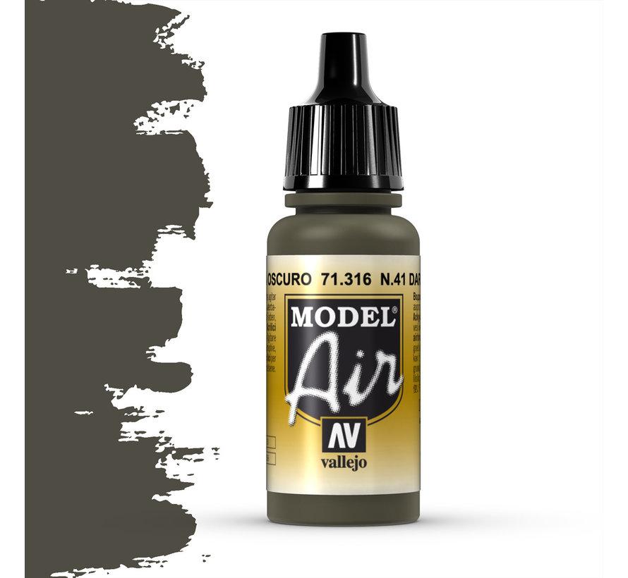 Model Air N41 Dark Olive Drab - 17ml - 71316