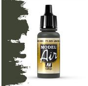 Vallejo Model Air IJN Dark Black Green - 17ml - 71325