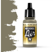 Vallejo Model Air A-21 Light Greyish Brown - 17ml - 71415