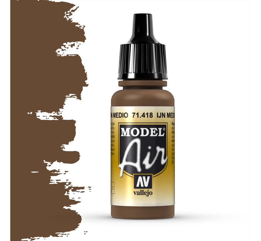 Model Air IJN Medium Brown - 17ml - 71418