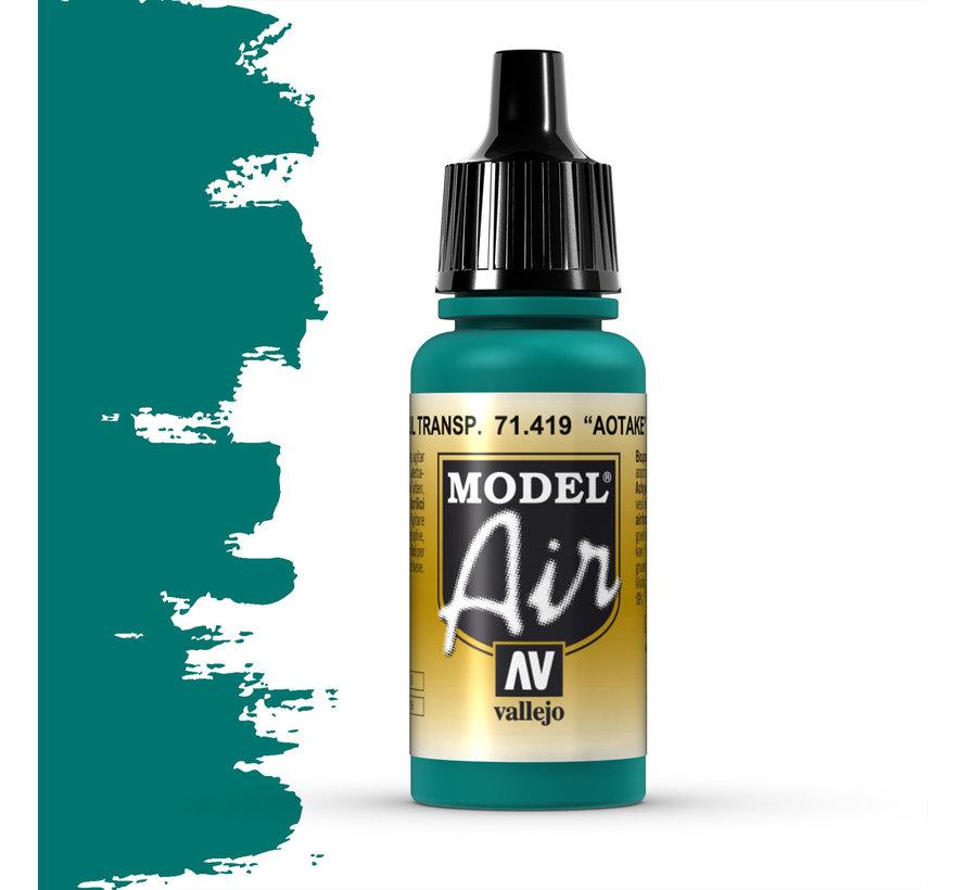 Model Air Aotake Translucent Blue - 17ml - 71419