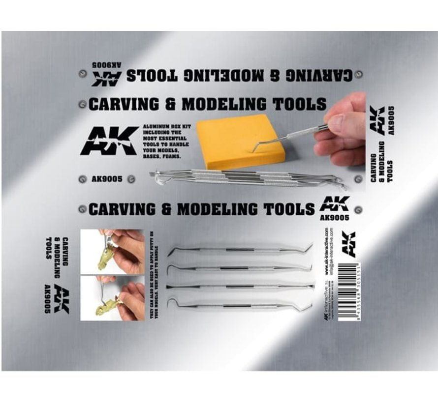 Carving Tools Box - AK-9005