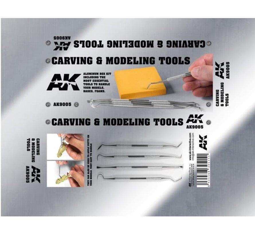 Carving Tools Box - AK9005