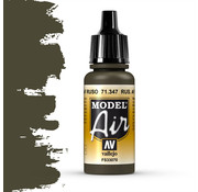 Vallejo Model Air Russian AF Dark Green - 17ml - 71347