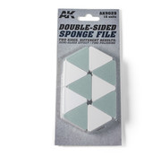AK interactive Double-Sided Sponge File -10x - AK9029