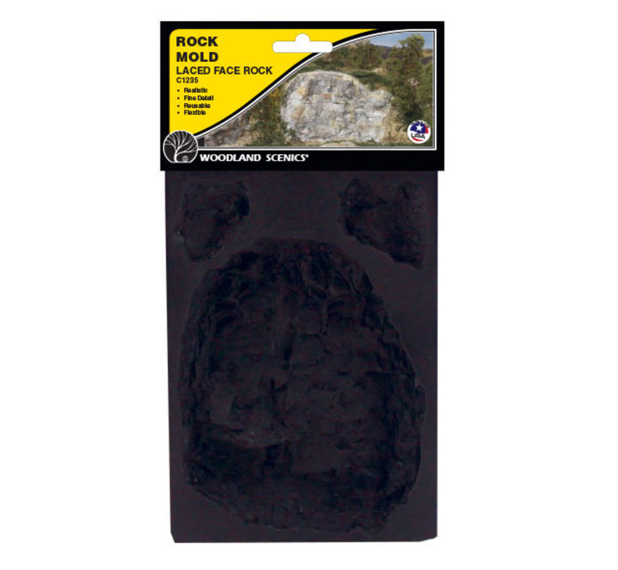 Laced Face Rock - WLS-C1235