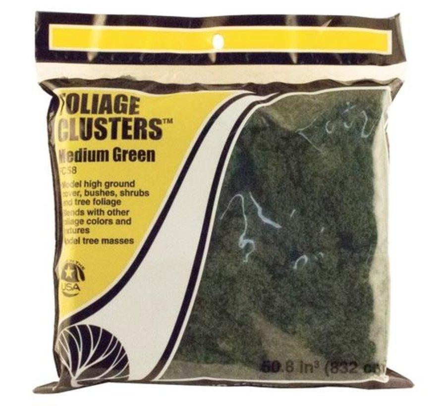 Foliage Clusters Medium Green - 832cm³ - WLS-FC58