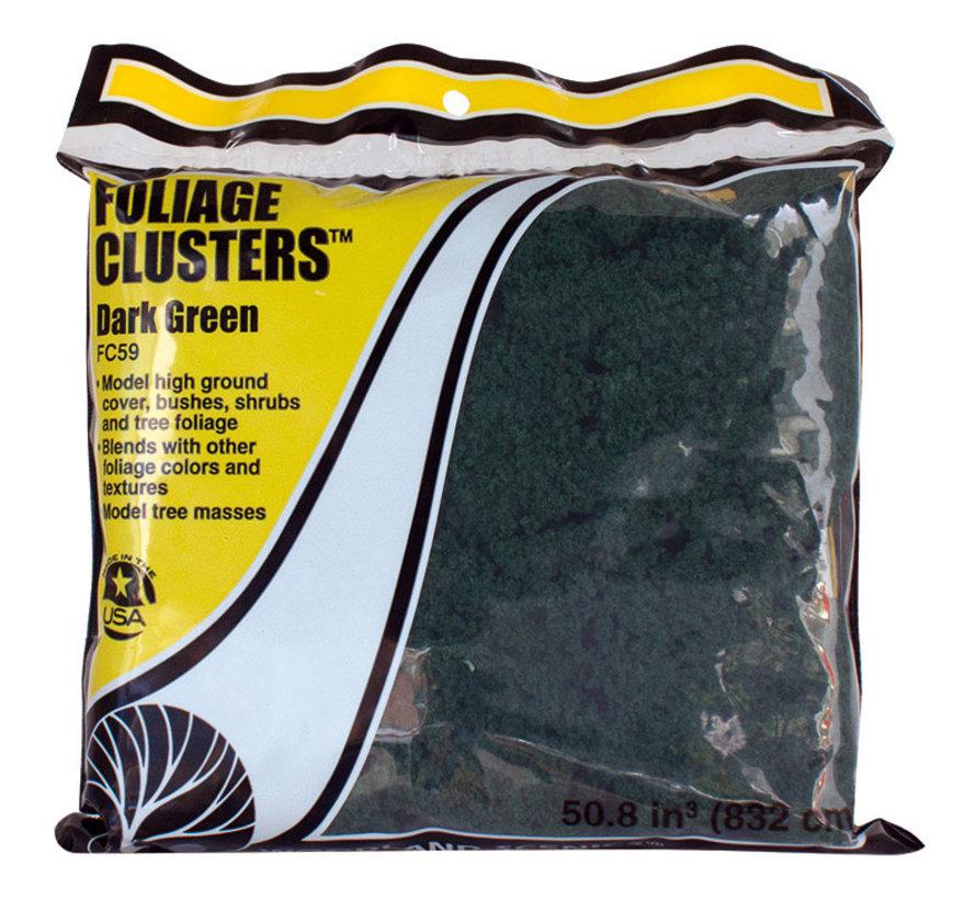 Foliage Clusters Dark Green - 832cm³ - WLS-FC59
