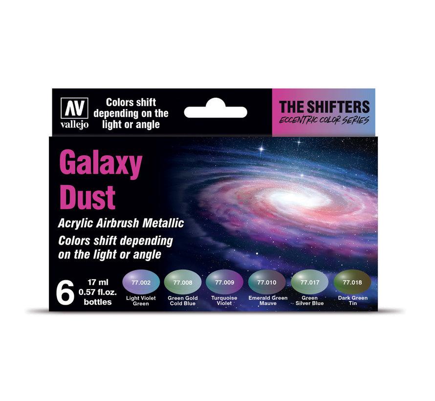 The Shifters set Galaxy Dust - 6 kleuren - 17 ml - 77092