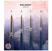 Scale 75 Miniatures Basic Kolinsky Sable Penselen - 4x - SBR-02