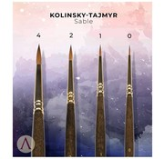 Scale 75 Miniatures Luxury Kolinsky Tajmyr Sable Penselen - 4x - SBR-03