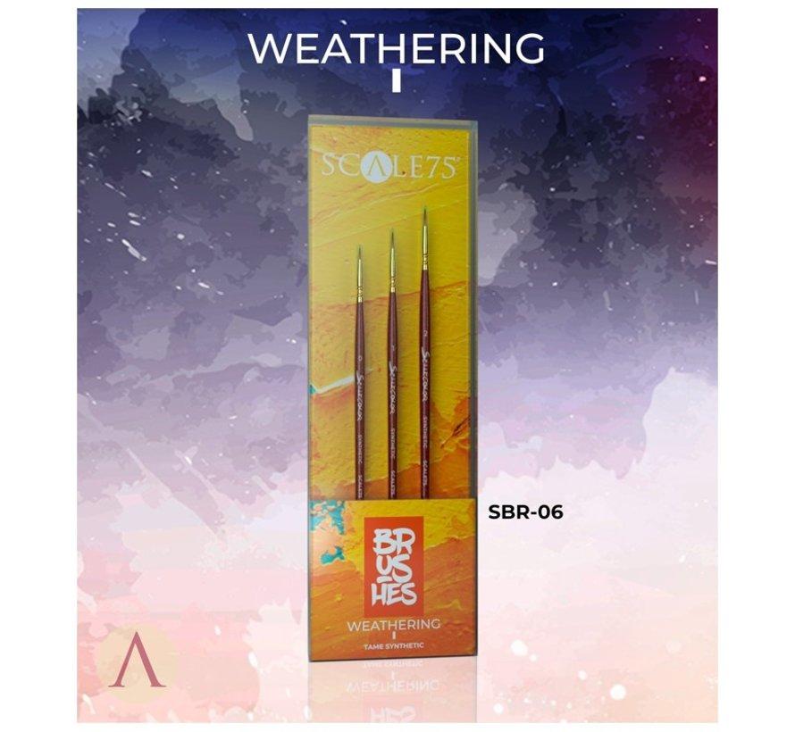 Weathering I penselen - 3x - SBR-06