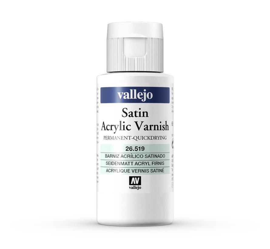 Satin Varnish - Zijdeglans vernis - 60ml - 26519