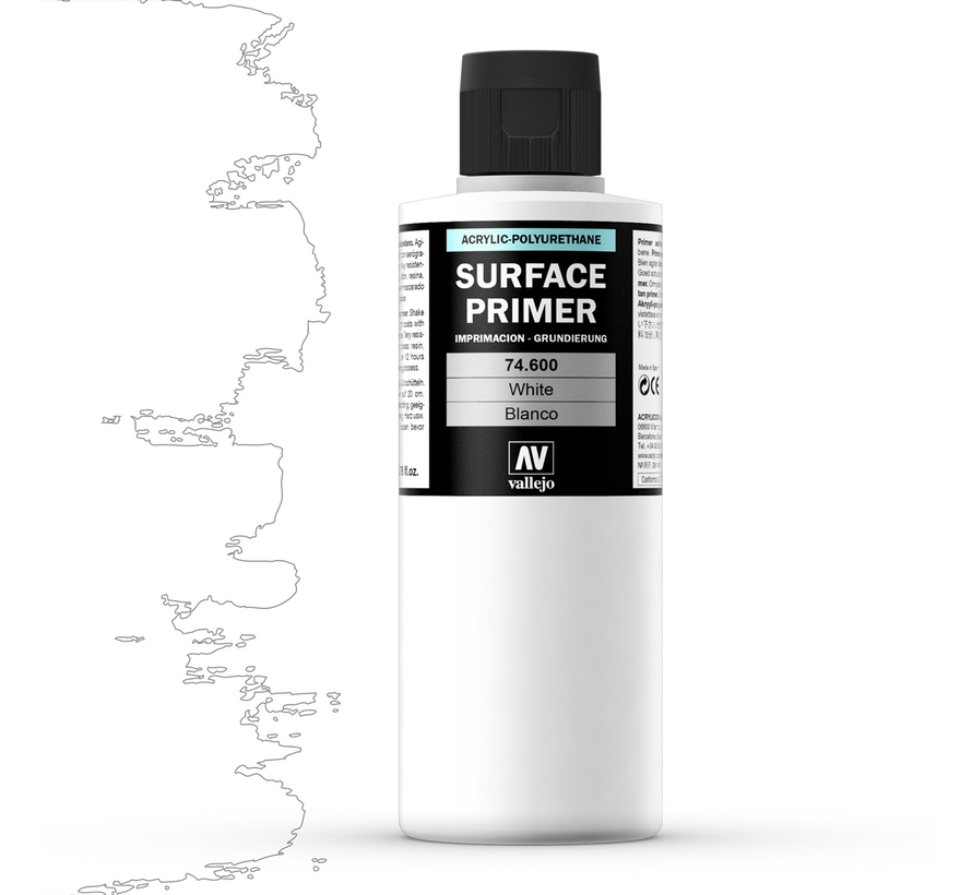 Surface Primer White - 200ml - 74600