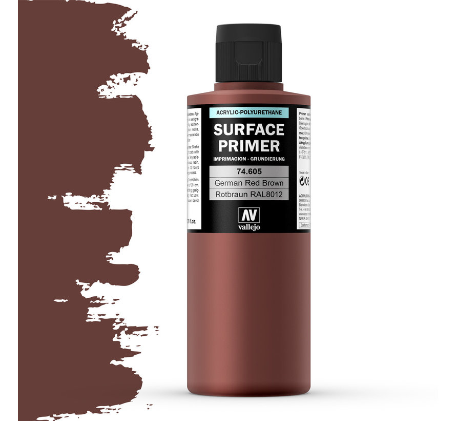 Surface Primer German Red Brown - 200ml - 74605