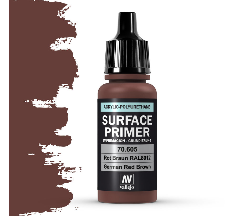 Surface Primer Ger. Red Brown - 17ml - 70605