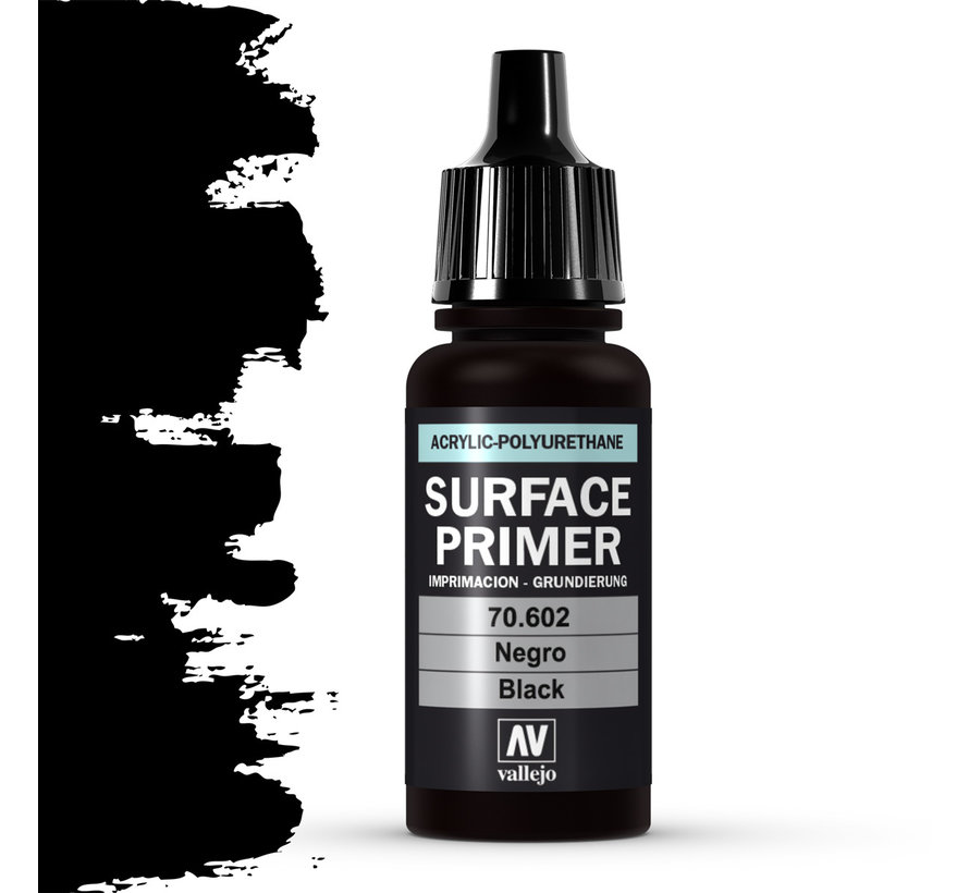 Surface Primer Black - 17ml - 70602