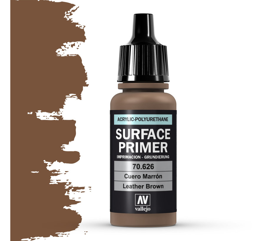 Surface Primer Leather Brown - 17ml - 70626