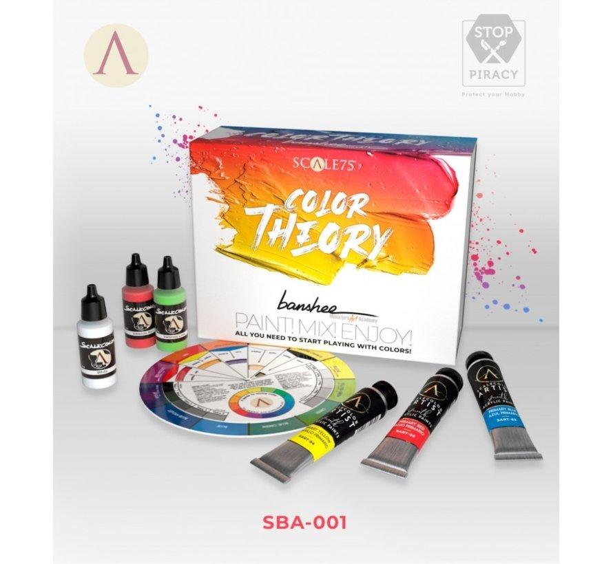 Color Theory Banshee - 18 kleuren - SBA-001