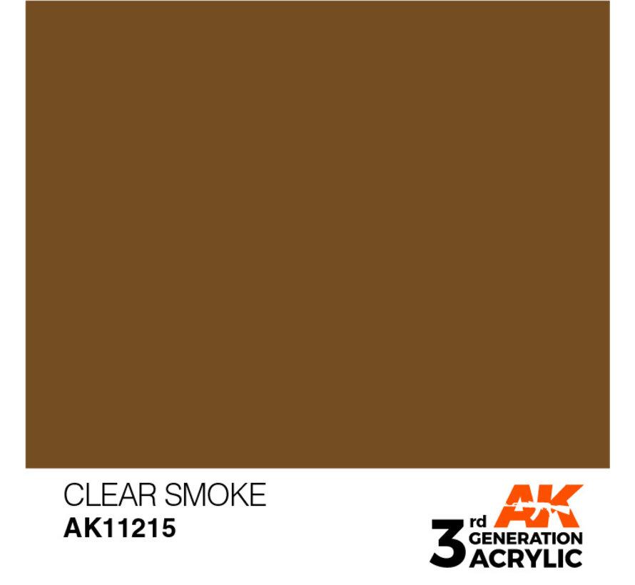 Clear Smoke Acrylic Modelling Colors - 17ml - AK11215