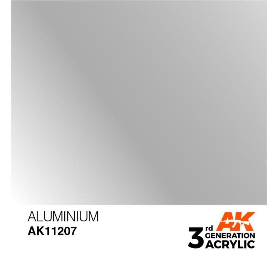 Aluminium Metallic Modelling Colors - 17ml - AK11207