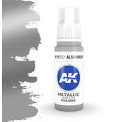 AK interactive Aluminium Metallic Modelling Colors - 17ml - AK11207