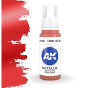 AK interactive Foundry Red Metallic Modelling Colors - 17ml - AK11203