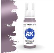 AK interactive Anodized Violet Metallic Modelling Colors - 17ml - AK11202