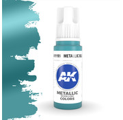 AK interactive Metallic Blue Metallic Modelling Colors - 17ml - AK11199